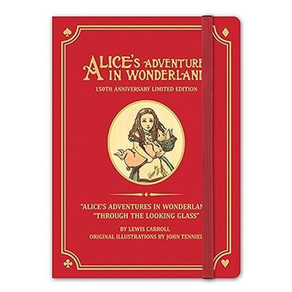 7321 Diseño Alice 150th aniversario diario organizador ...