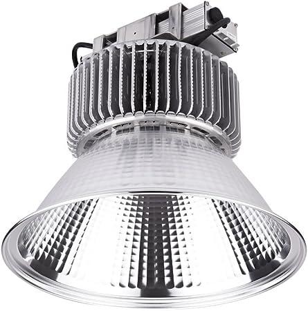 Biard - Campana LED COB Industrial 200W - Chip OSRAM LED - Ángulo de Apertura: 100° - Blanco Frío - Uso Comercial & Industrial: Amazon.es: Hogar