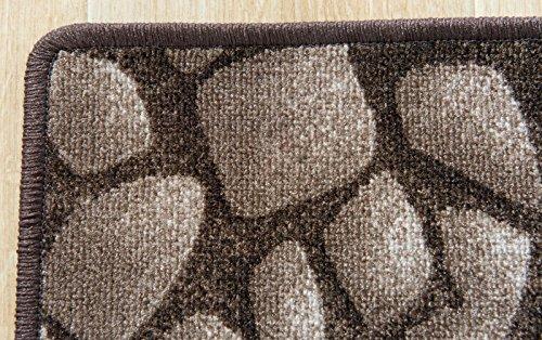Havatex Kinderteppich Hot Stone - - - Farbe  Braun   schadstoffgeprüft und pflegeleicht   schmutzresistent strapazierfähig  Küche Kinderzimmer Spielzimmer, Farbe Braun, Größe 160 x 180 cm B0079ERQJI Teppiche 960937