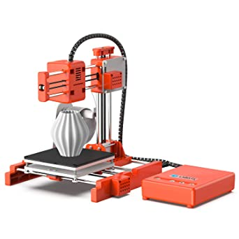 LABISTS X1 3D Printer Mini DIY Projects Printing Size 100 x 100 x 100 mm with PLA Filament for School Toybox with UK 3-Pin Plug