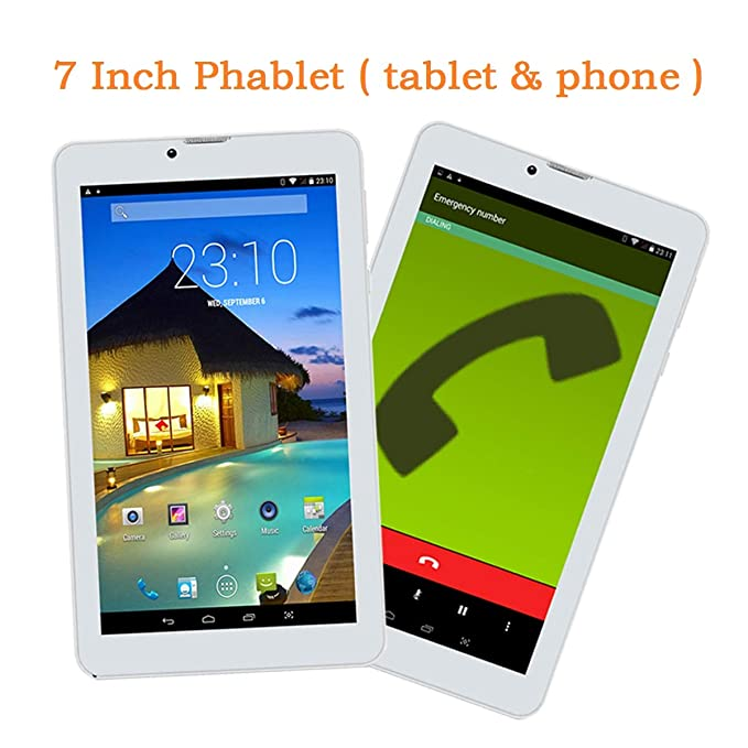 Goldengulf 7 Pulgadas Desbloqueado Quad Core 3G Phablet Android ...