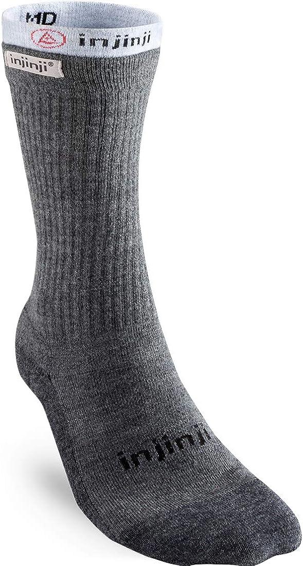Injinji Mens Liner Hiker Crew Socks