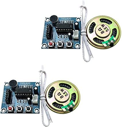 NEW ISD1820 Sound Recorder Voice Recording Module With Micophone Loudspeaker M