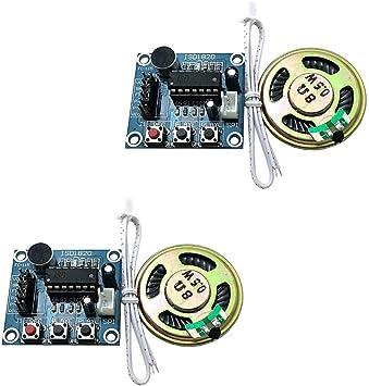 Amazon.com: Ximark ISD1820 - Módulo de grabación de voz con ...