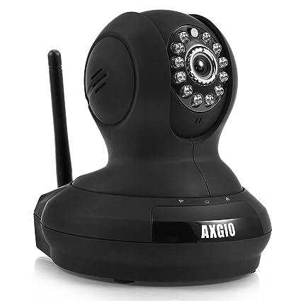 AXGIO IP Cámara Webcam WiFi Inalámbrica, Cámara IP de vigilancia y seguridad, 1.0 MP