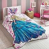 Barbie Dream Bedding Duvet Cover Set, Single / Twin 100% COTTON