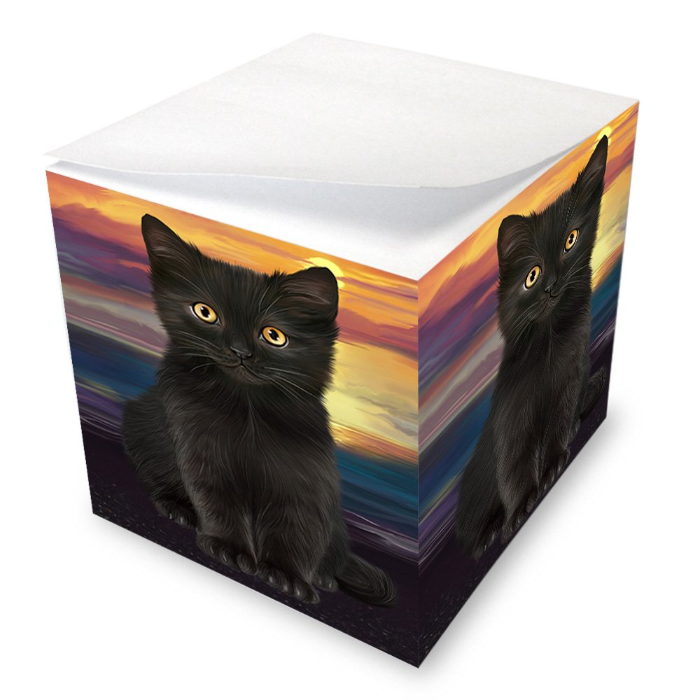 Black Cat Note Cube NOC51739