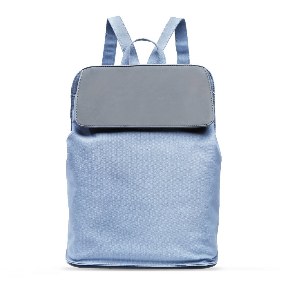 Light Weight Fashion Cotton Canvas Backpack for Women,Casual Style as Girl's Gift