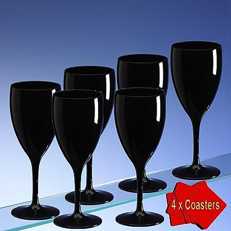 Lavavajillas de alta calidad de copas en un único color negro ...