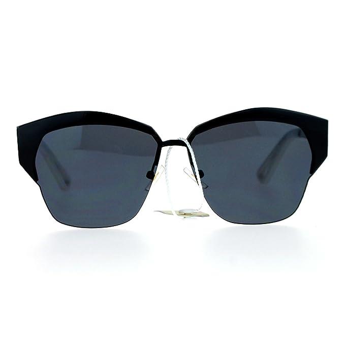 Amazon.com: SA106 lentes de espejo futurista octogonal de ...