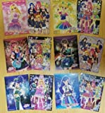 Aikatsu Eleven most lottery C Awards Clear Poster all six twelve