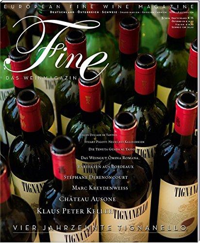 FINE Das Weinmagazin 03/2014: 26. Ausgabe