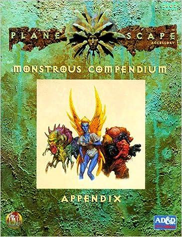 Monstrous Compendium Appendix Cover
