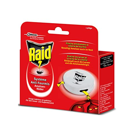 Raid - Insecticida para hormigas, Pack of 3