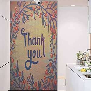 Amazon.com: wonderr Frosted Glass Film 3D Static Cling