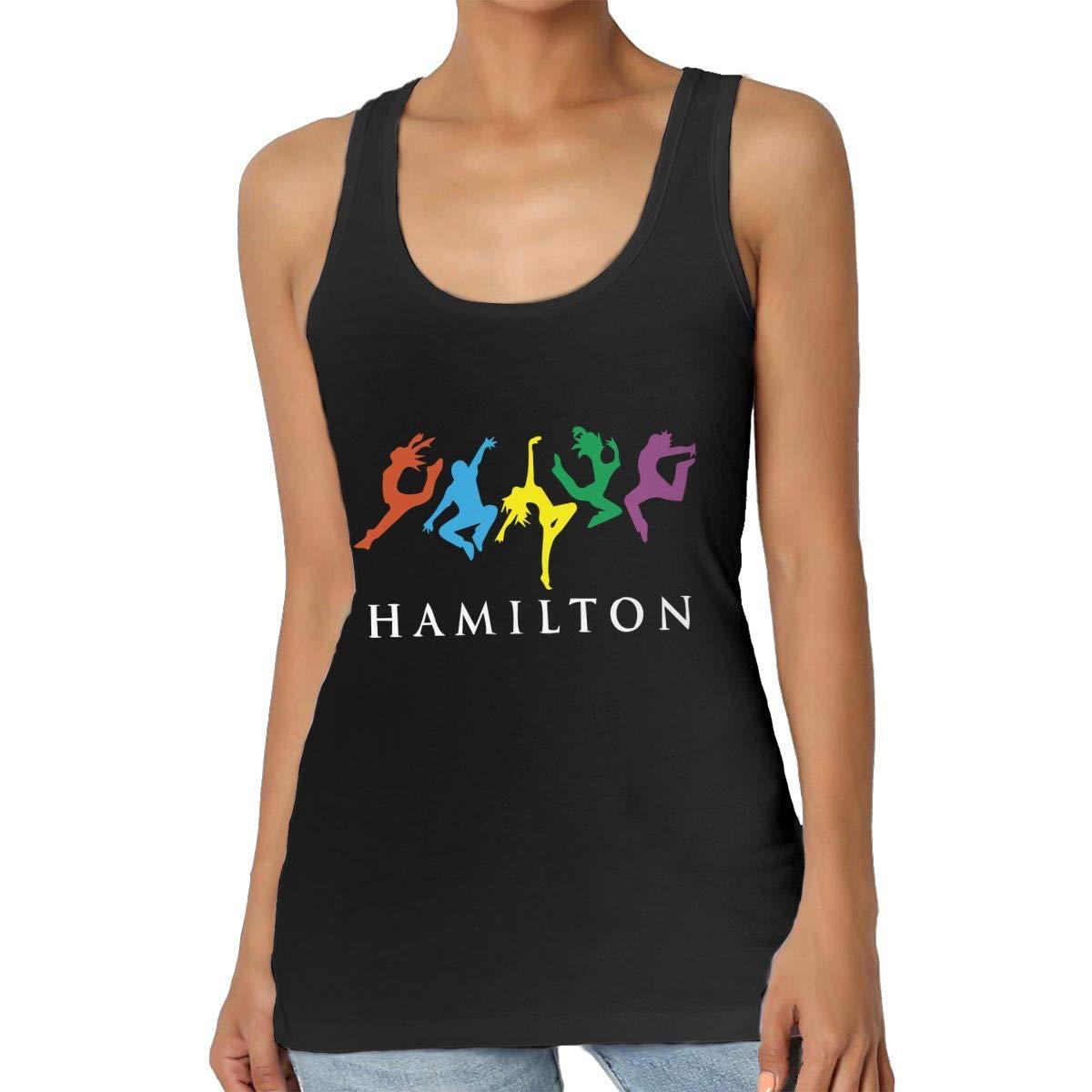 Musicals Hamilton Dancing Womens Casual Essential Racerback Tank Top
