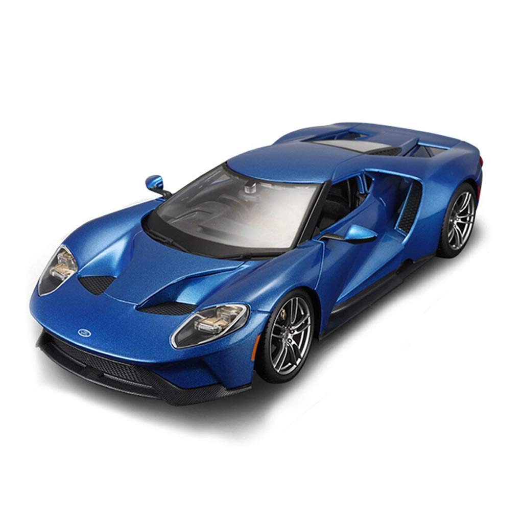 Auto Modello Modello di Auto Ford GT Modello di Auto Sportiva Modello in Scala 1 18 Modello pressofuso Modello in Lega Modello statico Collezione Regalo Decorazione ( Colore   Blu )
