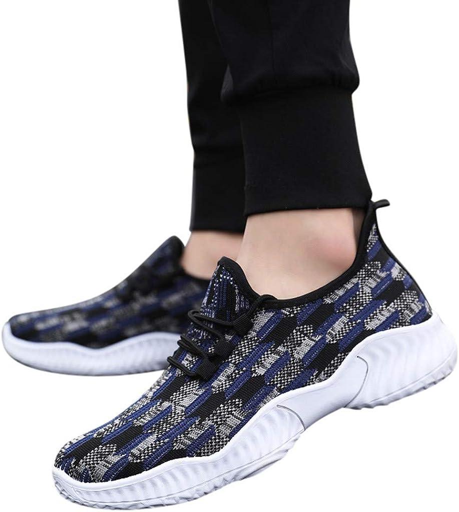 Btruely Zapatillas Hombre Ocasionales Zapatillas de Deporte del Estiramiento Respirable de la Malla Zapatos Deportivos Running Zapatillas para Correr: Amazon.es: Ropa y accesorios