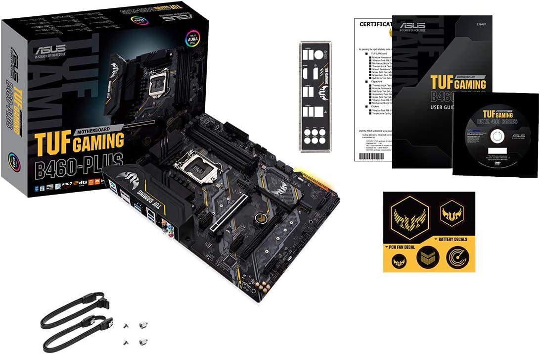 Asus Tuf Gaming B460 Plus Motherboard Socket 1200 Computers Accessories