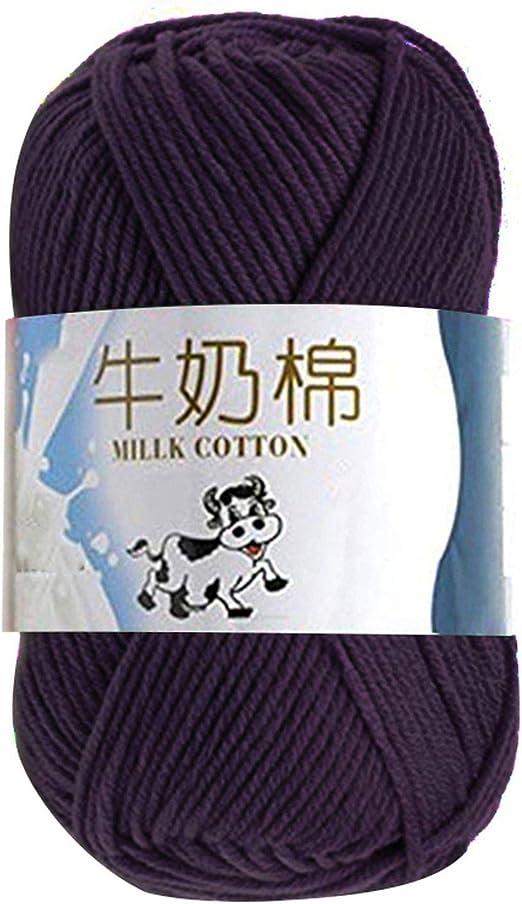Hilo de ganchillo de lana para tejer a mano, suéter de hilo grueso ...