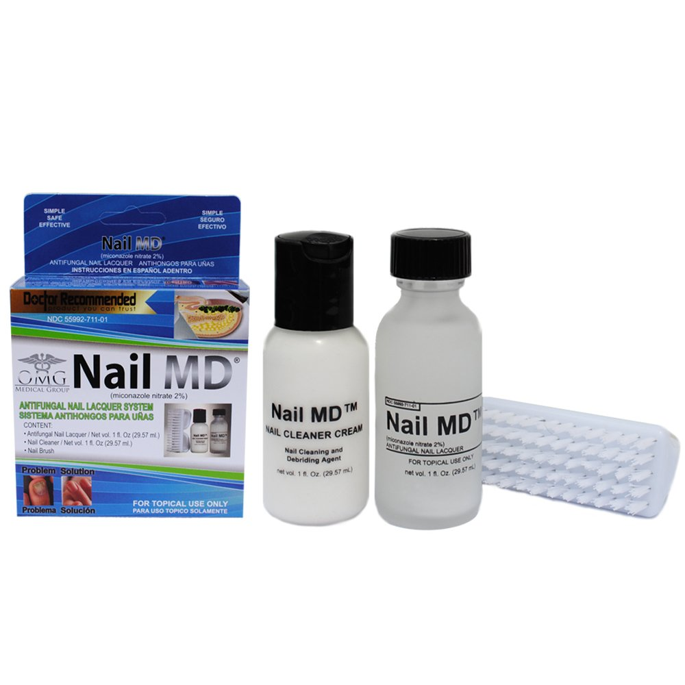 Amazon.com : Nail MD Antifungal Nail Lacquer System, 3 Count : Beauty