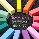 Temporary Hair Chalk - Washable Hair Color Safe for Kids And Teen - For Halloween Cosplay Party Girls Gift Kids Toy Birthday Christmas Gifts For Girls - 24 Bright Colors