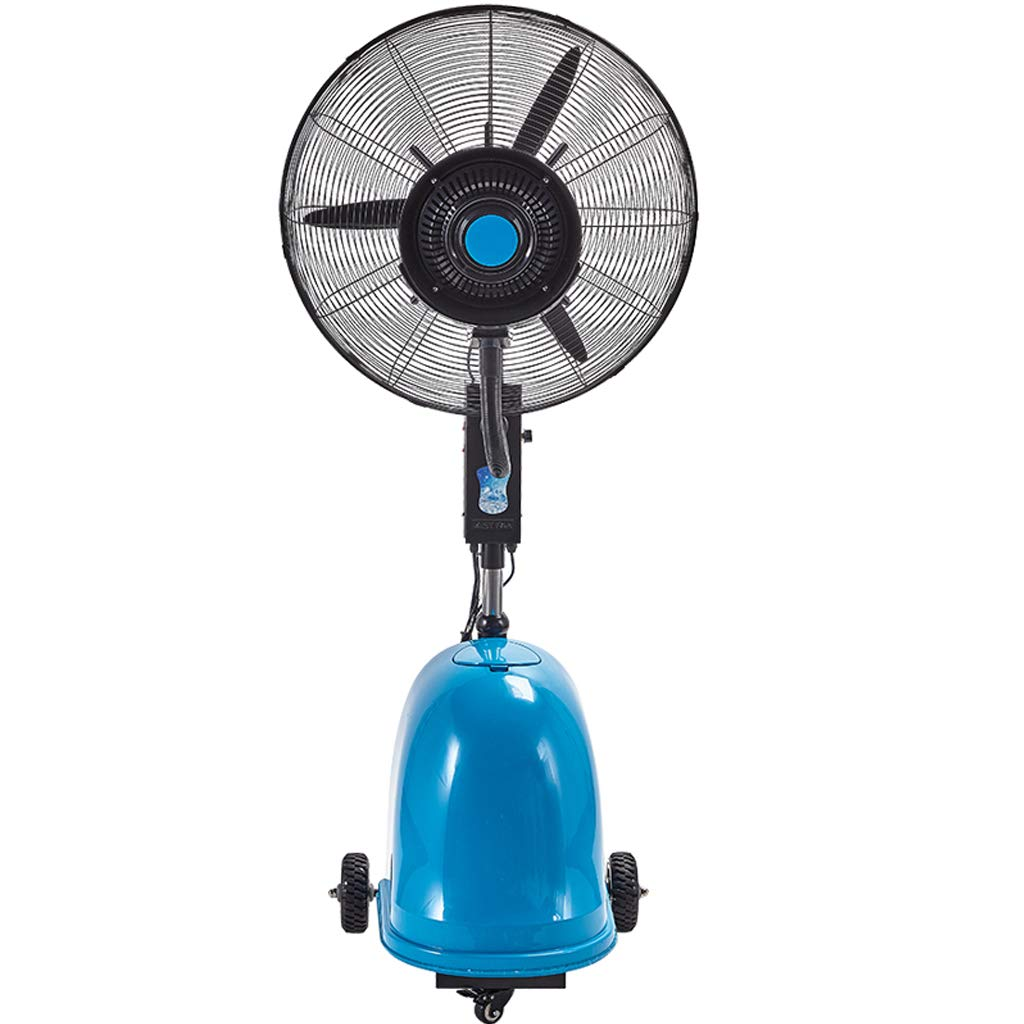 Misting Oscillating Fan,Lifting Outdoor High Power atomizing Shaking Head Industrial Spray Fan Suitable for Outdoor - 49L by Standing Fan