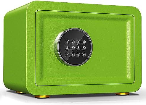Caja Fuerte Empotrable Caja de seguridad azul/verde/amarilla/púrpura, linda mini caja de cerradura pequeña para niñas, niños, para dinero, monedas de juguete ...