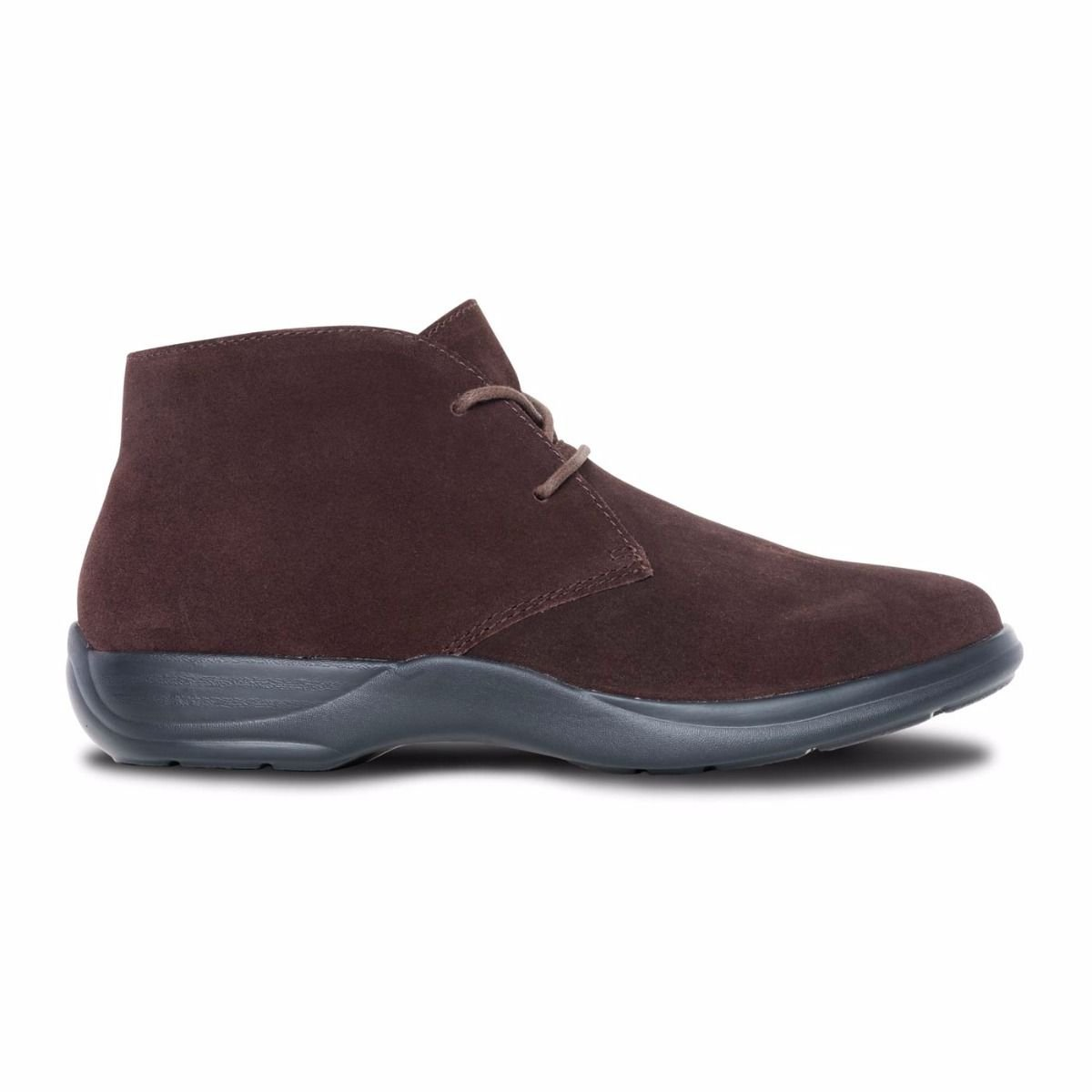 Dr. Comfort Women's Cara Casual Suede Brown Leather Bootie Chukka Boot Brown Suede B074ZRL8N6 7 E US|Brown 6fda32