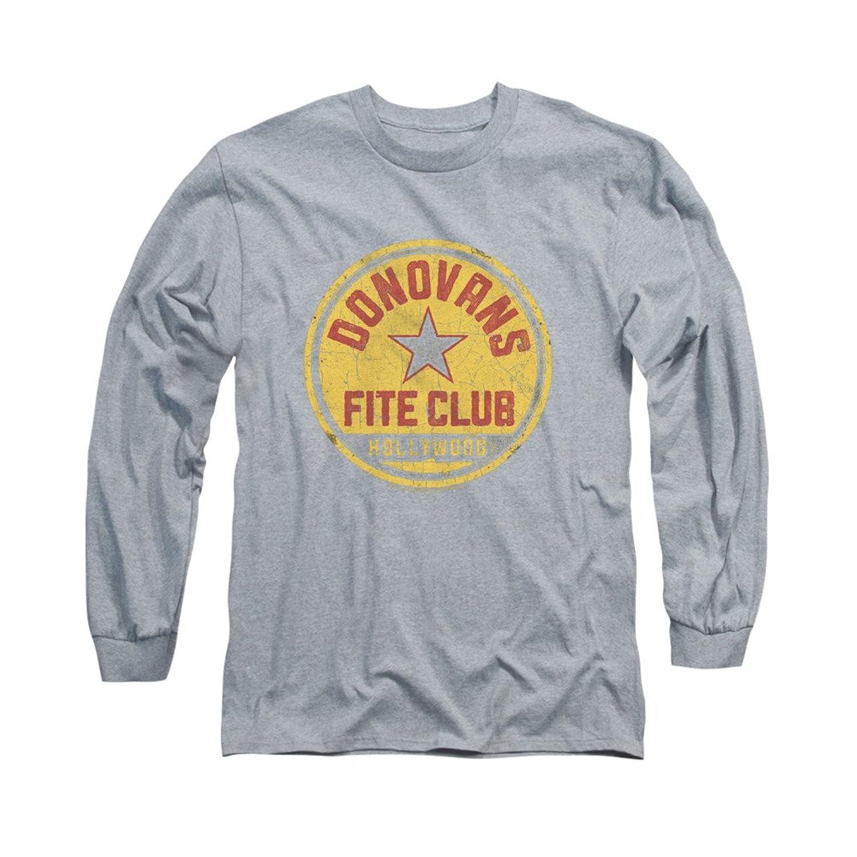 Ray Donovan Crime Drama TV Series Donovans Fite Club Logo Adult L-Sleeve T-Shirt