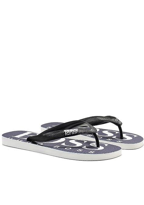 Hugo Boss Sandalias para Hombres, separadores de Dedos, Wave, Zapatillas de Baño, Estampado de Logotipo - Navy: : 7-8 UK: Amazon.es: Zapatos y complementos