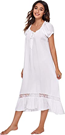 Verdusa Women's Lace Nightdress