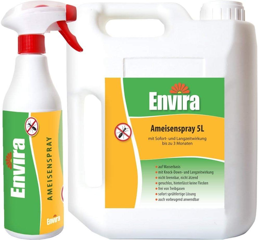 Envira Ameisen-Spray - Anti-Ameisen-Mittel Mit Langzeitwirkung
