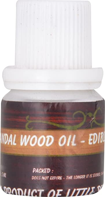 Little Bee Pure Edible Sandal Wood Oil, 5g-Best-Popular-Product
