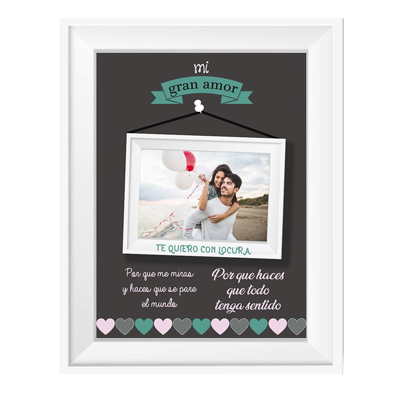 Kembilove Lamina Personalizada para pareja con nombre y fechas - Regalo Original para Parejas, Enamorados, Cumpleaños, Aniversarios