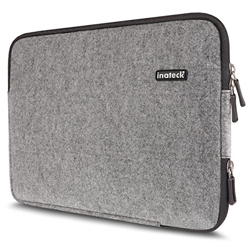 Inateck 14 Zoll Filz-Sleeve für 14'' Laptops HP Pavilion Lenovo ThinkPad Yoga14 Acer Aspire ES1, Notebook Tasche, Notebookhülle Laptop-Tasche, Laptop Case, Designer-Hülle