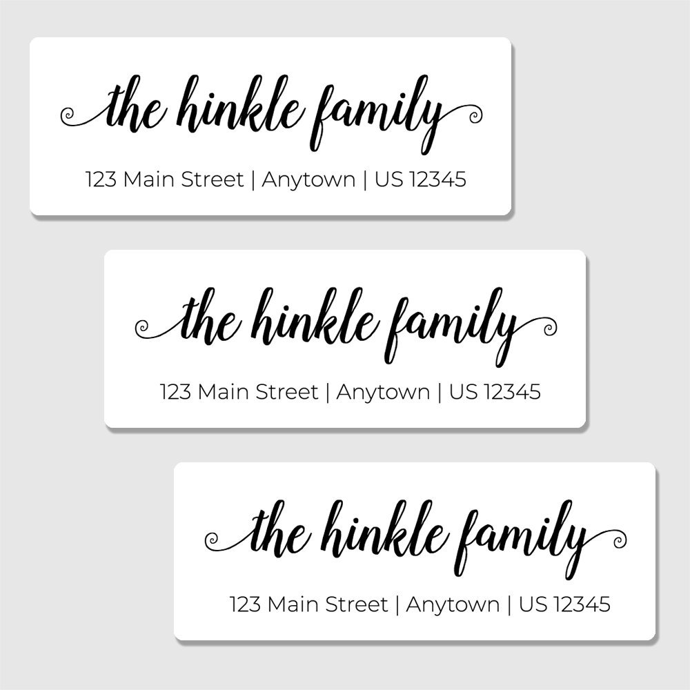 Amazon com 60 customized return address labels personalized