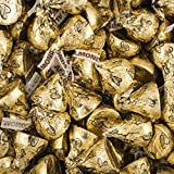 25 Lb Hershey Kisses Best Deals - Hershey's Kisses Candy with Almonds & Gold Foil Gold 25lb case