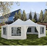 Outsunny Decagonal Wedding Tent, 29'x 21'