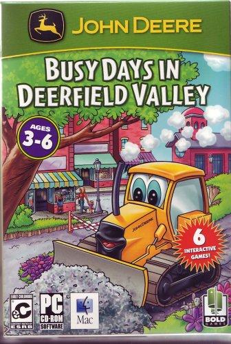 John Deere: Busy Days in Deerfield Valley - PC/Mac (John Deere Video Game)