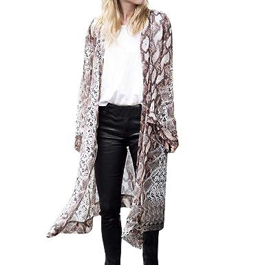 f6fdb5e4a8675 CMrtew 2019 Womens Beach Boho Plus Size Cover Up Swimsuit Kimono Cardigan  with Bohemian Floral Print
