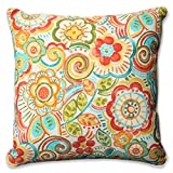Pillow Perfect Outdoor/Indoor Bronwood Carnival Floor Pillow, 25