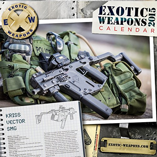 Price comparison product image 2015 Exotic Weapons Gun Calendar