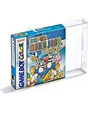 Link-e ® : 10 X Boitier de protection plastique pour boites de jeux Nintendo Gameboy, Color, Advance (GB, GBC, GBA)