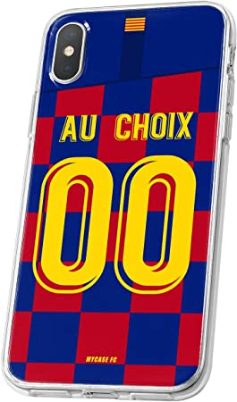 MYCASEFC Coque Barcelone Wiko View 2 Foot Personnalisable Silicone ...