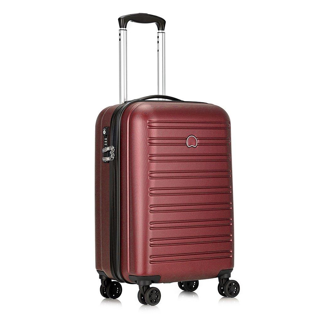 [デルセー]Delsey スーツケース SEGUR 超軽量 大容量 TSAロック搭載 内装洗濯可 キャリーバッグ キャリーケース 旅行用品 B072KDL3FS レッド-43L レッド-43L