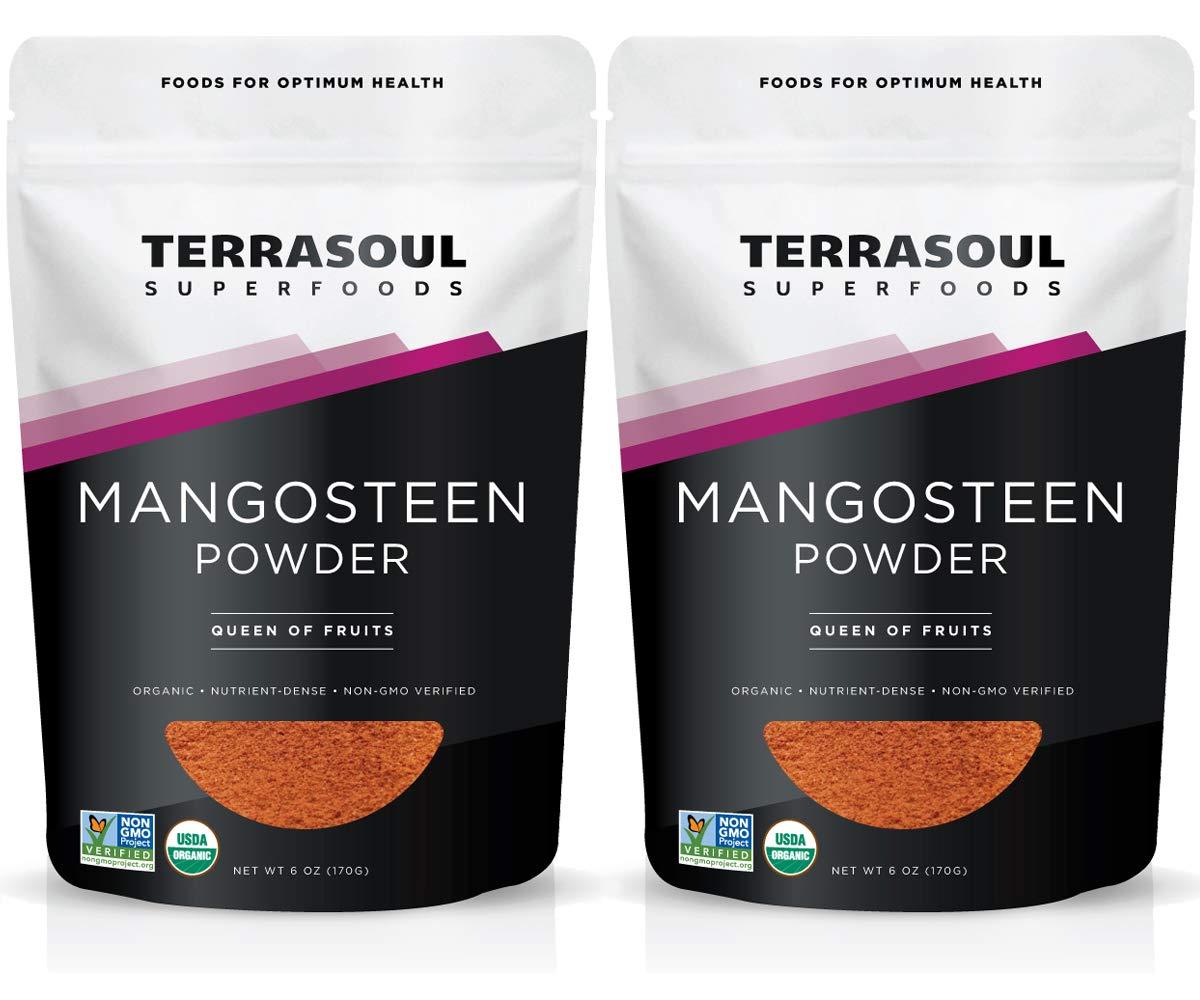 Terrasoul Superfoods Mangosteen Fruit Powder (Organic), 12 Ounces