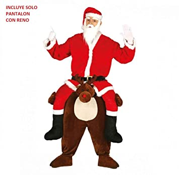 Guirca Disfraz Papá Noel Carry Reno Adulto Talla 52-54 41640