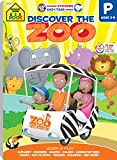 img - for Discover the Zoo Preschool Adventure Workbook, Ages 3-5, preschool skills, pre-reading, early math, includes reward stickers book / textbook / text book