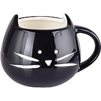 Cisixin® 300ml Gatto Ceramica Carina Coppa, Tazza da caffè in Ceramica, innovativi Cat Modello Cup